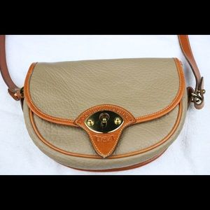 Dooney and Bourke Tan Leather Crossbody